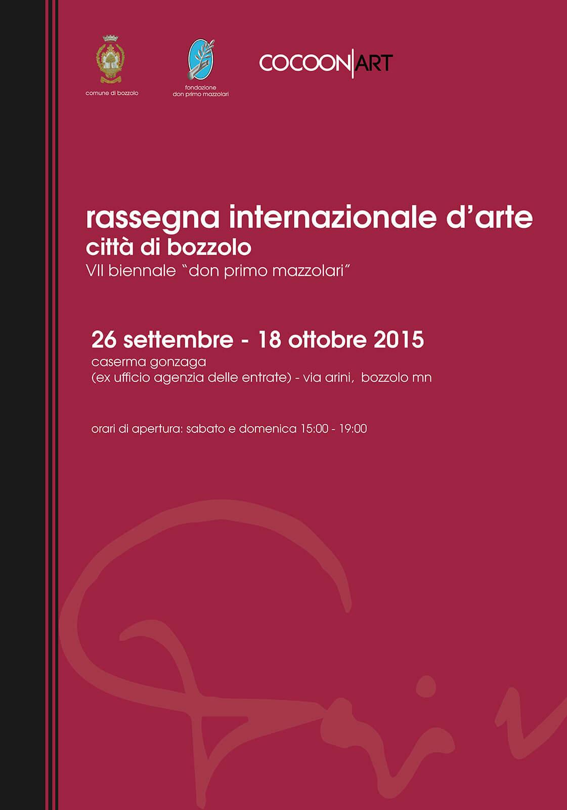 Poster Premio Don Primo Mazzolari