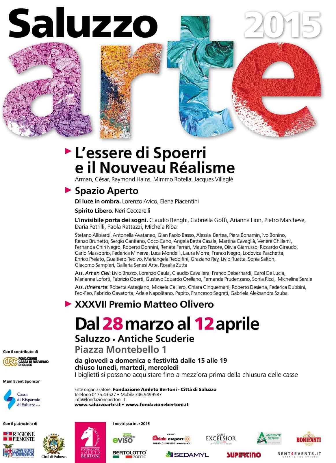 Poster Saluzzo Arte