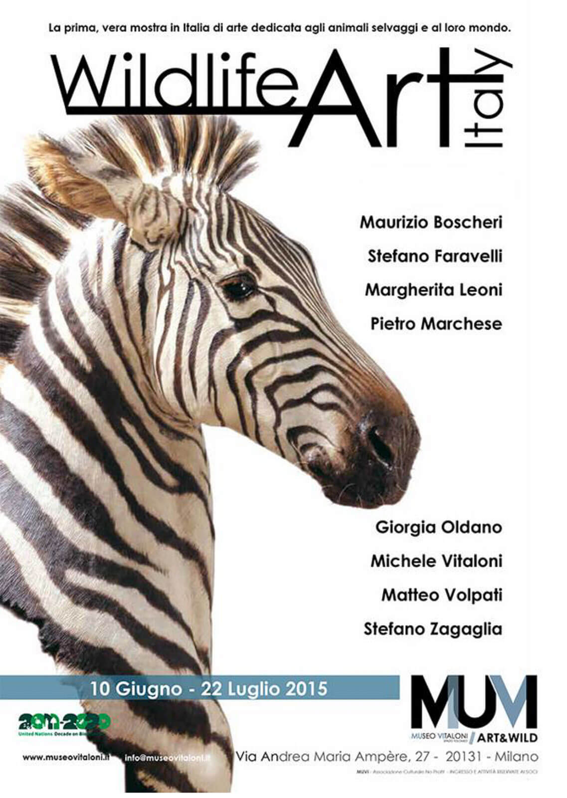 Poster Wild life Art Italy
