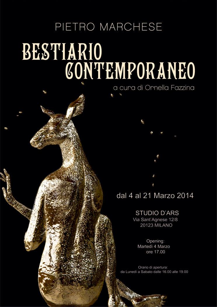 Poster Bestiario Contemporaneo