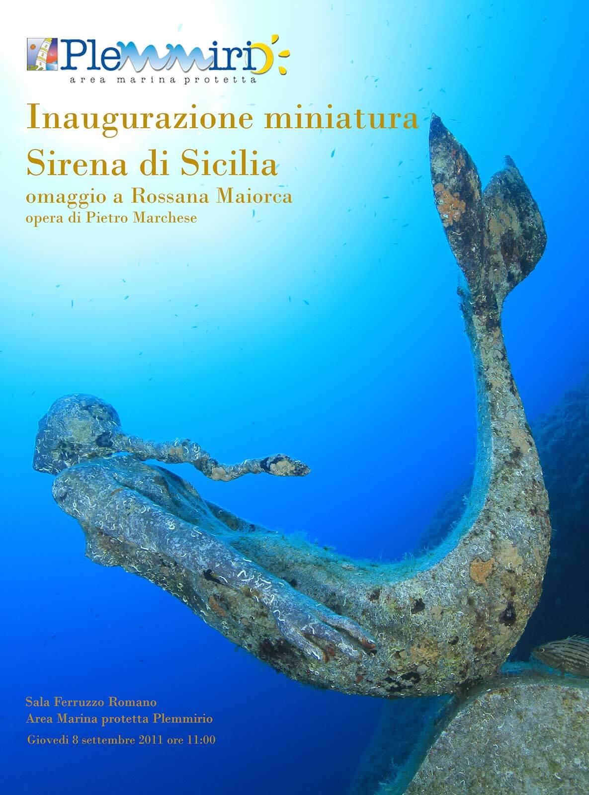 Miniatura Sirena di Sicilia
