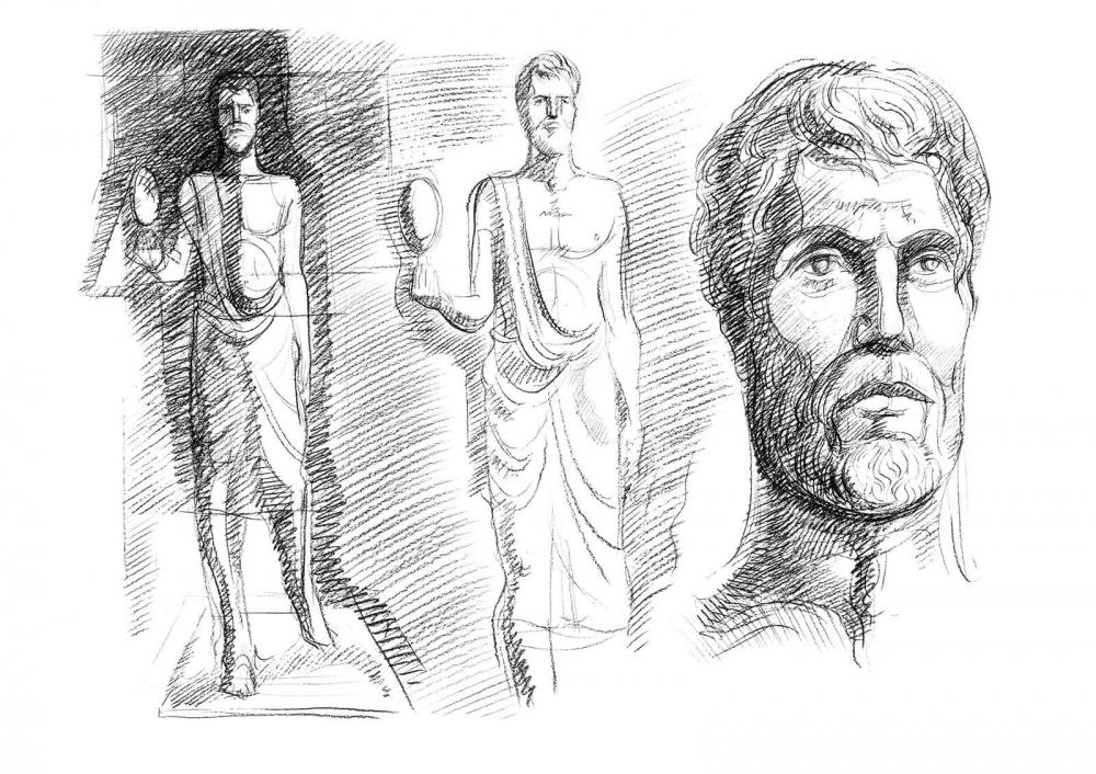 Bozzetto Archimede
